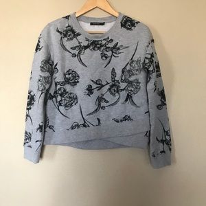 OBEY Grey Flower Sweatshirt